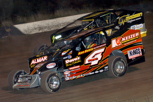 Tim McCreadie Fends off Brett Hearn for 358-Modified ...