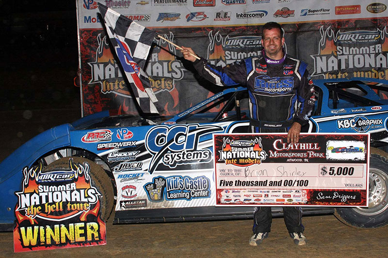 Shirley Surges to Second DIRTCar Summer Nationals 2014 Season at Clayhill Motorsports Park