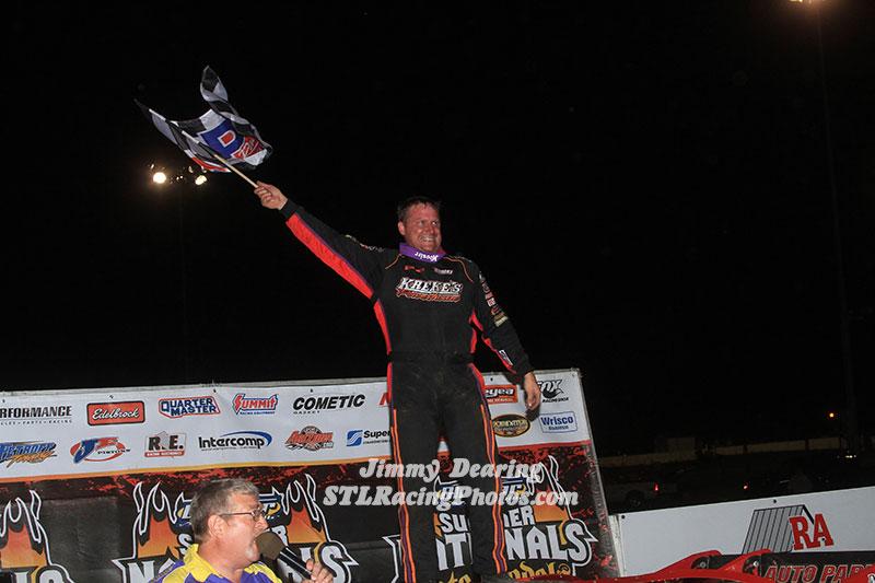 Babb Wins at Iowa's Farley Speedway for 84th DIRTcar Summer Nationals Victory of His Career