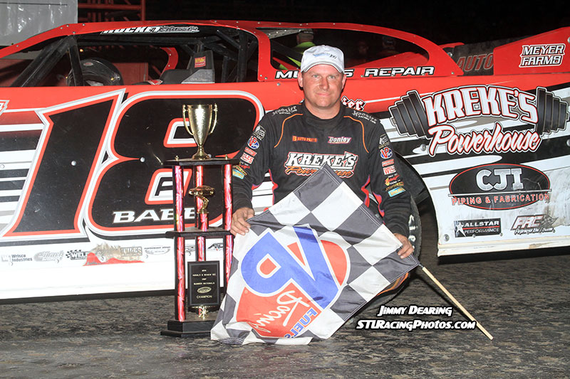 Babb Captures Third Victory of 2014 DIRTcar Summer Nationals Season at Hometown Macon Speedway