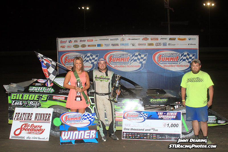 Poel Claims Fifth Win of 2014 DIRTcar Summit Racing Equipment Modified Nationals at Tri-State Speedway