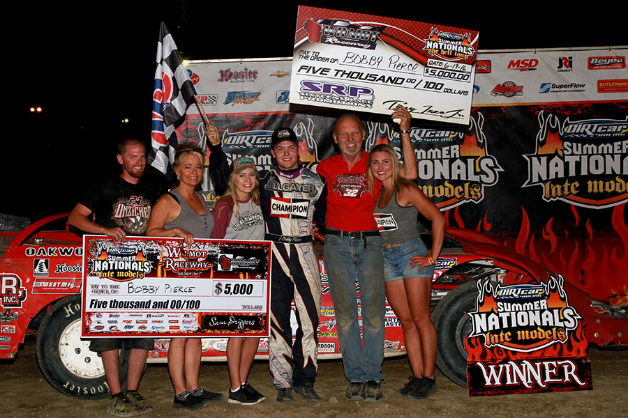 Bobby Pierce Battles Jason Feger For Father S Day Win At