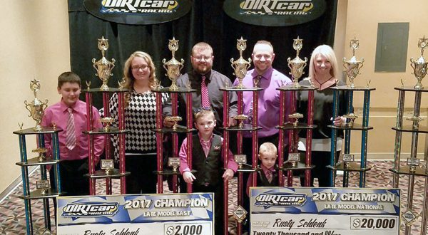 Schlenk at DIRTcar Banquet