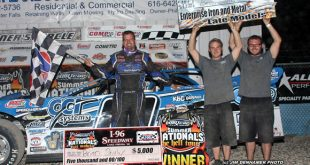 Brian Shirley at I-96 Speedway